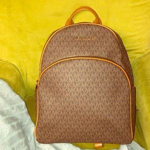 Brand new Michael Kors Abbey backpack